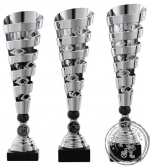 Sportprijs|Standaard A1089 zilver met zwart accent