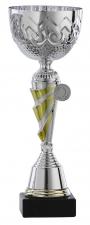 Sportbeker|Bokaal A1091 zilver met goud accent (serie van 6)