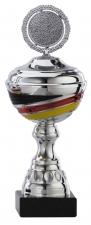 Sportbeker|Bokaal A1093 met kleuren Duitse vlag (serie van 6)