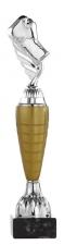 A1039 Standaard goud-zilver-brons op marmeren voet  (serie van 3)