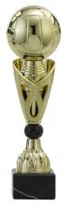 A1051 Standaard goud op marmeren voet  (serie van 3)