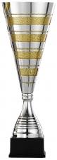 Trofee|Wisselbeker A7001 metaal zilver goud (serie van 3)
