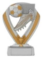 Beeldje|Trofee C152 voetbal met schoen (serie van 3)