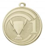 Medaille nr 1-2-3 E3002 goud/zilver/brons (45mm)