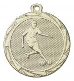 E3004 Medaille voetballer goud/zilver/brons (45mm)
