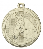 Medaille paard E3010 goud/zilver/brons (45mm)