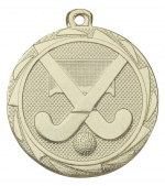 Hockey Medaille E3012 goud/zilver/brons (45mm)