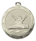 Medaille karten E3014 goud/zilver/brons (45mm)