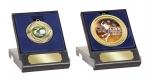 E601 Medailledoosje blauw/rood