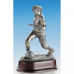 Sportbeeld|Trofee Q19 voetbalster zilver en goud