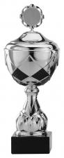 Sportbeker|Bokaal A4000 zilver met zwart accent (SERIE VAN 12)