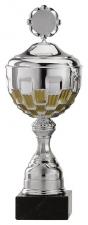 Sportbeker|Bokaal A4001 zilver met goud accent (serie van 12)