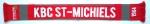 Gebreide fanshawls - dubbelzijdig gebreid 150x18cm