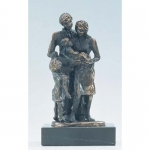 """Bronzen beeld MA314 """"gezin"""""""