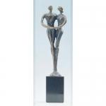 """Bronzen beeld MA339 """"waardering"""""""