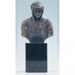 """Bronzen beeld MA343  """"brandweerman"""""""