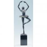 """Bronzen beeld MA351 """"beweging in emotie"""""""