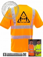 Veiligheids T-shirt 1.5 meter afstand