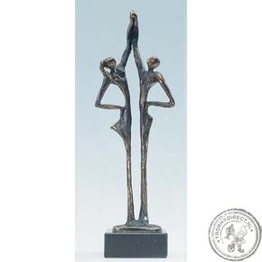 """Bronzen beeld MA327 """"de verbintenis"""""""