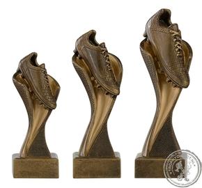 C157 Gietwerk Voetbalschoen goud (serie van 3)