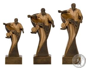 Beeld|Trofee C160 voetballer in kleur goud