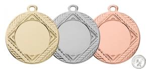 E274  medaille goud/zilver/brons (40mm)