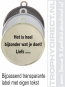 label medaille