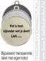 Stay Safe Medaille goud met gravering of label