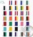 Halslinten E7000 voor medailles (34 kleuren)