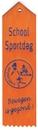 Erelintjes|Vaantjes 18x5cm met opdruk (vanaf 34 cent)